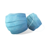 Blue Disposable Protective Medical Face Mask (1pcs/pack)